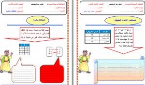 اوراق-عمل-رياضيات-ثاني-ثانوي-مستوى-ثالث