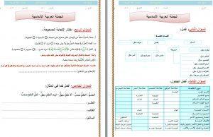 اوراق-عمل-لغة-عربية-اول-ثانوي-مستوى-اول-الليزر