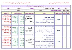 تحضير-اللغة-العربية-ثاني-ثانوي-مستوى-ثالث-بطريقة-الاسترايتجيات-الحديثة-فواز-الحربي