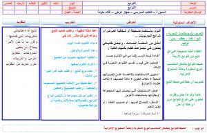 تحضير-اللغة-العربية-ثاني-ثانوي-مستوى-ثالث-بطريقة-البنائية-الليزر