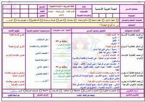 تحضير-لغة-عربية-اول-ثانوي-مستوى-اول-بطريقة-الخماسية-بالاستراتيجيات-فواز-الحربي