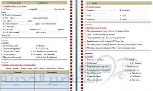 اوراق عمل انجليزي فل بلاست رقم 2 الفصل الدرسي الثاني