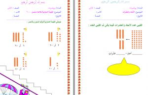 اوراق عمل رياضيات ثاني ابتدائي فواز الحربي