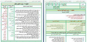 تحضير اجتماعيات خامس ابتدائي بطريقة الوحدات مشروع الملك عبدالله