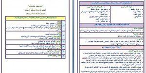 تحضير تربية فنية ثالث ابتدائي بطريقة الوحدات مشروع الملك عبدالله تابع
