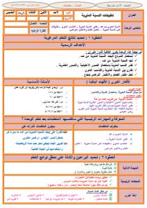 تحضير رياضيات اول متوسط بطريقة الوحدات مشروع الملك عبدالله