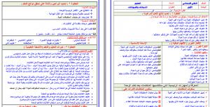 تحضير علوم ثاني ابتدائي بطريقة وحدات مشروع الملك عبدالله فواز الحربي