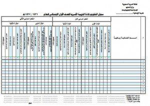 مهارات تربية اسرية اولى ابتدائي