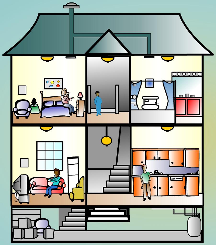 تحضير وحدة المسكن وحدات رياض اطفال