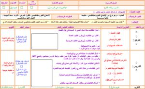 ورق عمل درس التفاعلات والمعادلات لمادة كيمياء1 مقررات 1440 هـ