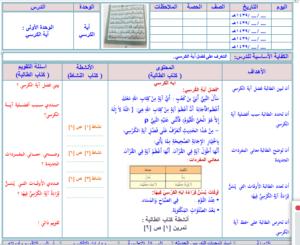 مهارات مادة الفقه للصف الثالث الابتدائي الفصل الدراسي الثاني 1440 هـ