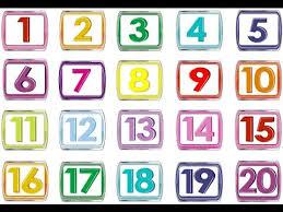 تحضير درس الاعداد حتي 20مادة الرياضياتللصف الأول الإبتدائي الفصل الدراسي الاول 1441