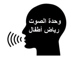 مهارات التفكير للاركان وحدة الصوت