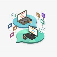 تحضير الوزارة درس مقدمة في الشبكات الالكترونية مادة الحاسب الالي 2 نظام المقررات 1441