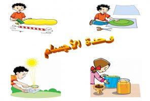 بوسترات المستوى الثالث وحدة الاجسام رياض اطفال