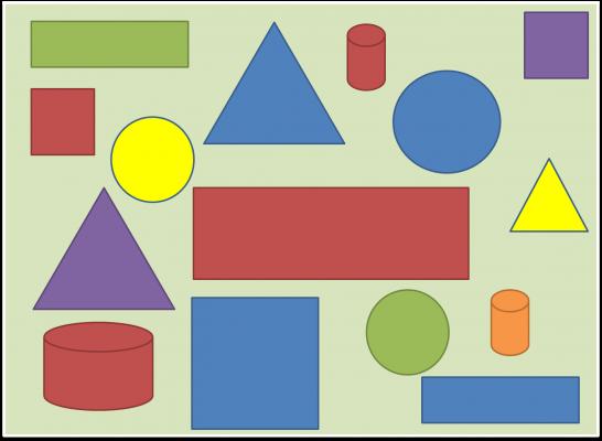 باوربوينت درس طباعة أشكال هندسية مادة التربية الفنية الصف الثاني الإبتدائي الفصل الدراسي الأول 1442هـ