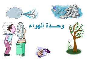 تحضير حلقة حركة الهواء بالطريقة الإستقصائية وحدة الهواء رياض أطفال
